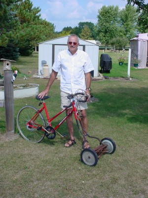 Riding lawnmower 004